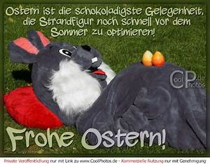 Frohe Ostern Lustig : frohe ostern ostern ist die schokoladigste gelegenheit die strandfigur ~ Frokenaadalensverden.com Haus und Dekorationen