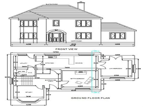 free floor plans free dwg house plans autocad house plans free