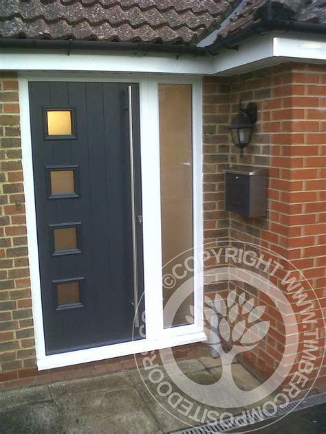 solidor milano italia composite door  anthracite grey timber composite doors blog