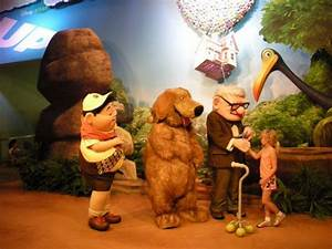 """""""Up"""" Characters Meet and Greet at Disney's Hollywood Studios 