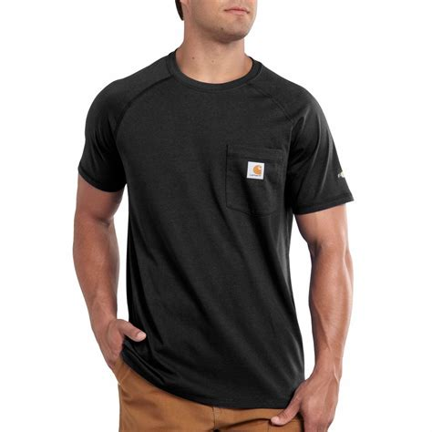 carhartt k204 men s short sleeve work dry 174 t shirt