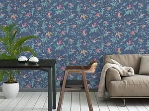 Papier Peint Fleuri Vintage : papier peint fleuri le retour du flower power joli place ~ Melissatoandfro.com Idées de Décoration