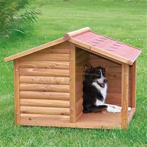 Hundehütte Mit Terrasse : hundeh tte lodge mit terrasse in versch gr en wet ~ Watch28wear.com Haus und Dekorationen