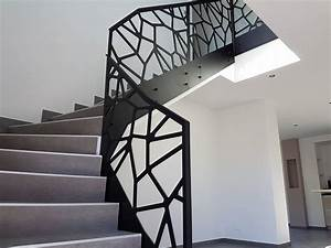Garde De Corps Escalier : escalier garde corps bas rhin alsace rb metal design ~ Melissatoandfro.com Idées de Décoration