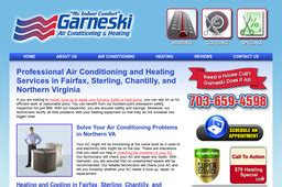 Average Salary For Heating And Air Conditioning by Garneski Air Conditioning Heating Co On Maries Rd In