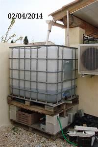 Recuperateur Eau De Pluie 1000 Litres : installer un r cup rateur d 39 eau 1000l ~ Premium-room.com Idées de Décoration