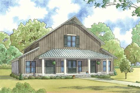 Barn Style Home Floor Plans by Barn Style House Plan 1014 Barnwood Manor Ndg