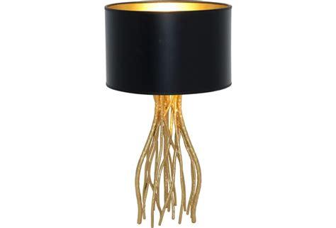 Holländer Tischleuchte 1-flg. Capri Klein Eisen Gold