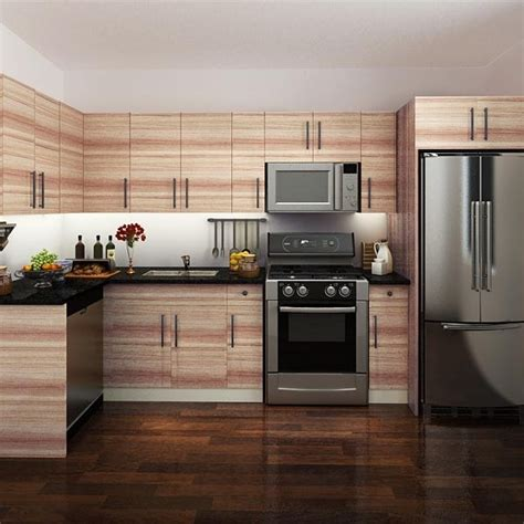 Canada Project Melamine Kitchen Cabinets Kitchen Furniture