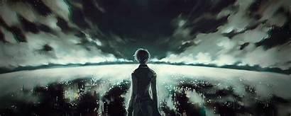 Anime Kaneki Tokyo Ghoul Ken Dark Background
