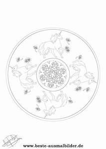 Einhorn Mandala Mandalas Von Einhrnern Fr Kinder