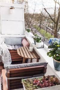 die besten 25 kleine balkone ideen auf pinterest With mini balkon ideen
