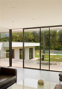 Baie vitree sur mesure baie vitree alu baie for Chambre design avec porte fenetre aluminium technal
