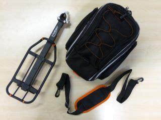 rennrad mit gepäckträger fahrrad tasche satteltasche oberrohrtasche rahmentasche