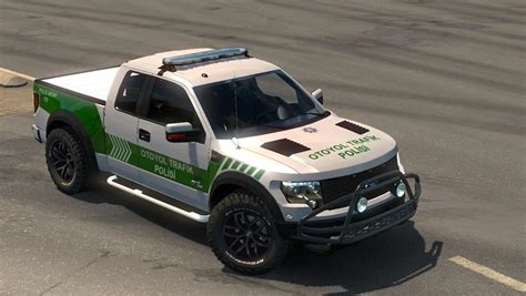 ford  raptor turkish police car paintjob  car mod