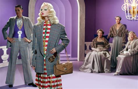 guccis showtime ad campaign  homage   golden