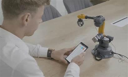 Industrial Robot Axis Arm Mirobot Cool Loading