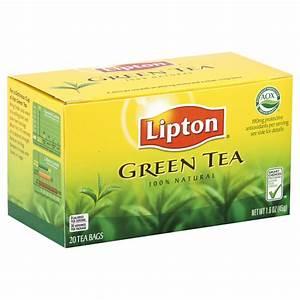 Lipton Green Tea, 20 tea bags [1.6 oz (45 g)]