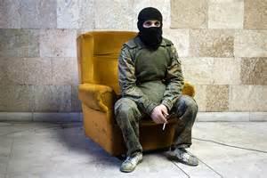 Ukraine Crisis: Marko Djurica's Portraits of Masked Pro ...