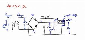 Voltage Regulator - What Is Deciding The Current Of An Ac To Dc Circuit