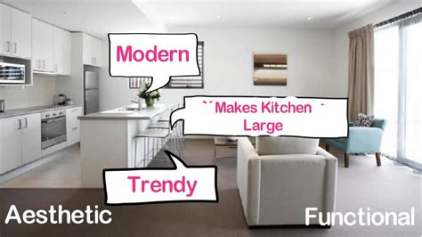 Home Interior Design India Youtube : Open Kitchen Design For Indian