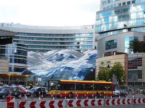 varsovie pologne le centre ville moderne