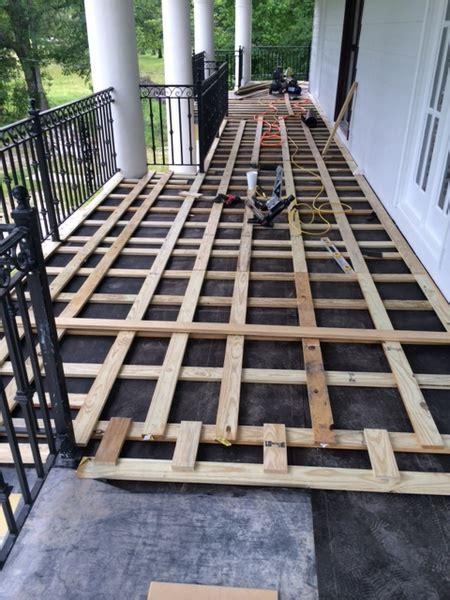 balcony water drainage  roofingsiding diy