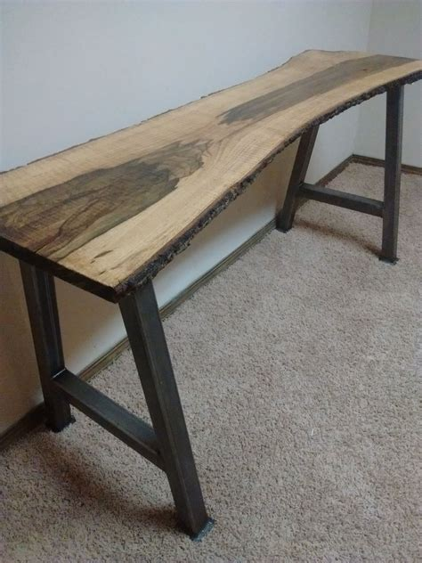 buy handmade  edge furniture  edge blackjack oak