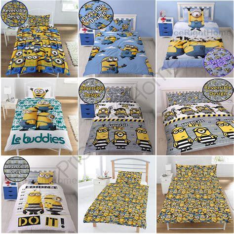 Bettwäsche Größen Ikea by Minions Bettw 228 Sche Sets Junior Einzel Doppel