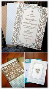 192039s art deco theme wedding susie matt real With wedding invitations 1920 s theme