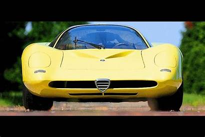Alfa Romeo Concept Coupe 1960s Speciale Tipo