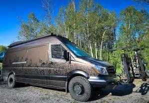 Fiat Sink by New 2015 Mercedes Sprinter Diesel 4x4 Is The Dream Vehicle Outside Van Makes It Real Bikerumor