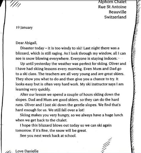 howes class literacy formal  informal letters