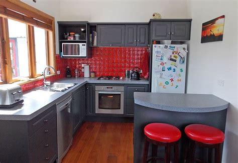 resene island spice  kitchen walls kitchen design