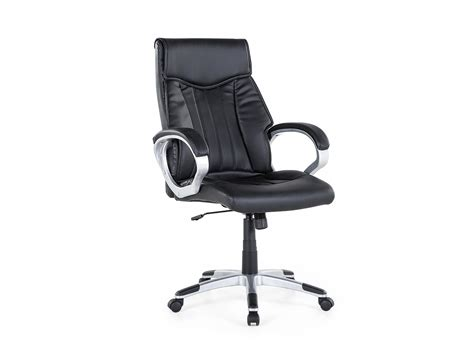 leather swivel desk chair office chair swivel chair faux leather ergonomic desk
