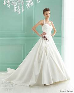 jasmine bridal 2012 wedding dresses wedding inspirasi With halterneck wedding dress