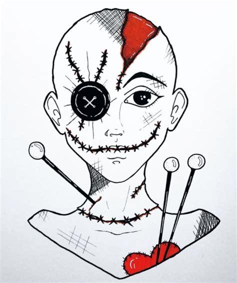 voodoo doll drawing tumblr