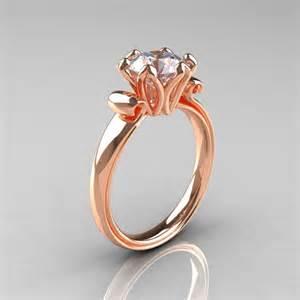gold cubic zirconia engagement rings antique 14k gold 1 5 ct cubic zirconia engagement ring ar127 14krgcz