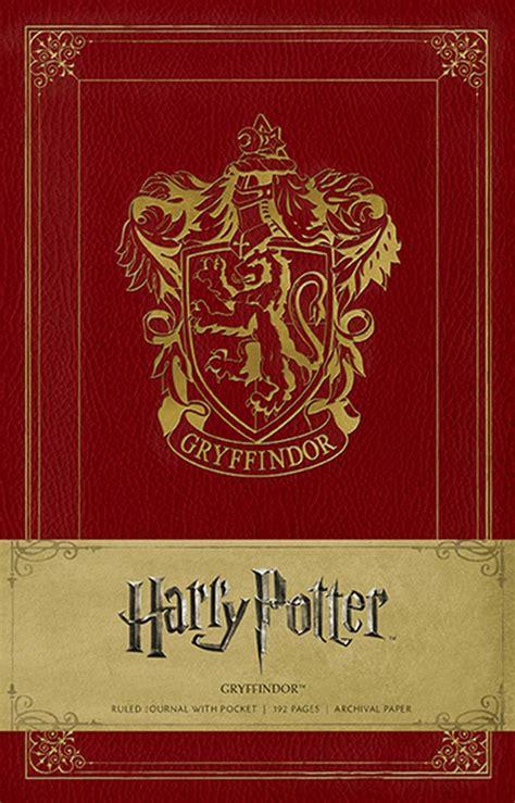 harry potter gryffindor hardcover ruled journal book