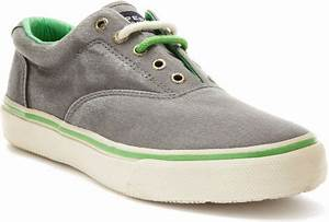 Sperry Top sider Mens Striper Cvo Laceless Neon Sneakers