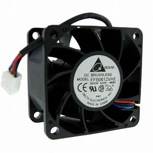 12 Volt Ventilator : delta 60mm 12 volt dc 6000 rpm cooling fan ffb0612vhe ~ Jslefanu.com Haus und Dekorationen