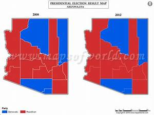 Arizona Election Results 2016 Map - Results by County ...