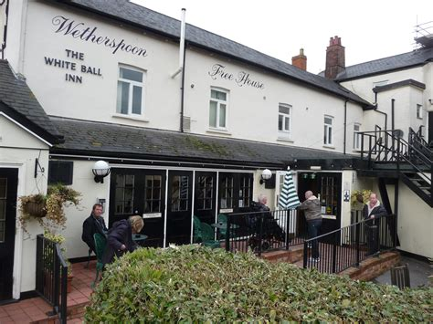 File:Tiverton , Wetherspoons White Ball Inn - geograph.org ...