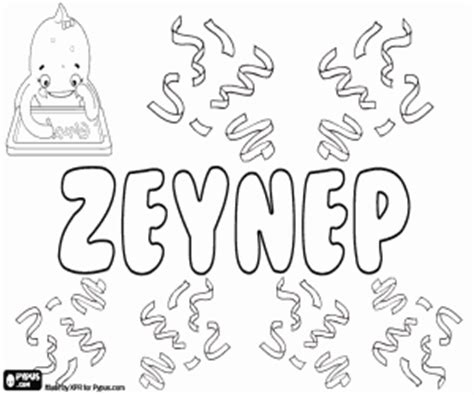 coloriage pr 233 noms de fille avec z 224 imprimer