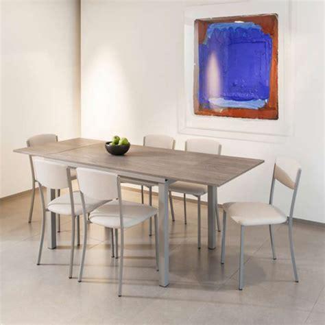 extensible de cuisine table de cuisine extensible en stratifié vienna 4