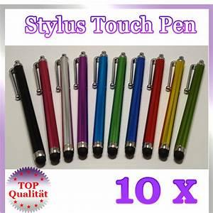 Touch Pen Für Smartphone : 10x stylus touch pen eingabe stift bedienstift handystift smart phones tablet smartphone ~ Orissabook.com Haus und Dekorationen