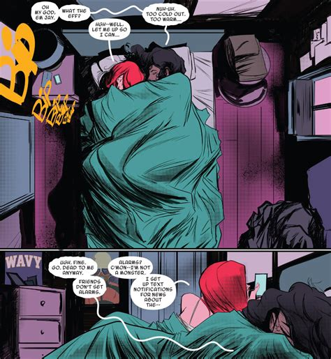 spider man miles morales and scarlet spider mary jane watson spider sex bed by ashmount hentai