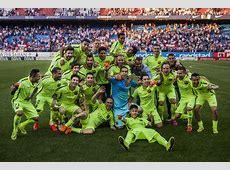 FC Barcelona Celebración del título de Liga BBVA
