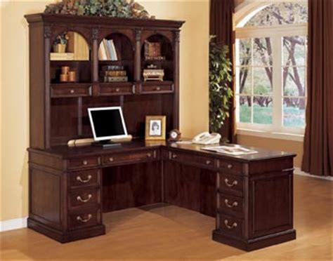 home office traditional wood veneer