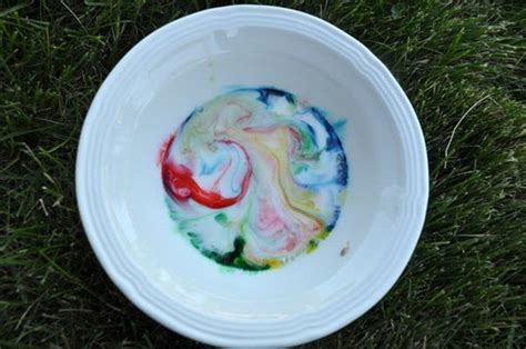 milk dish soap food coloring classroom ideas pinterest